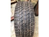Spare tyre+wheel