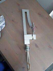 Modern mixer basin tap
