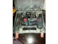 Bosch cordless drill and charger box set