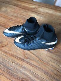 Nike hypervenom skins sock boots size 2