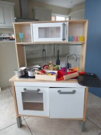 Ikea Toy kitchen with lots of accessories included