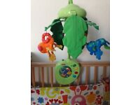 Fisher-Price Rainforest Mobile With Remote Control forest animals