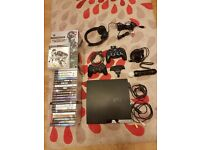 PS3 320GB with MOVE controller,camera,22 games