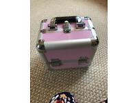 Carry case and acrylic nail stuff
