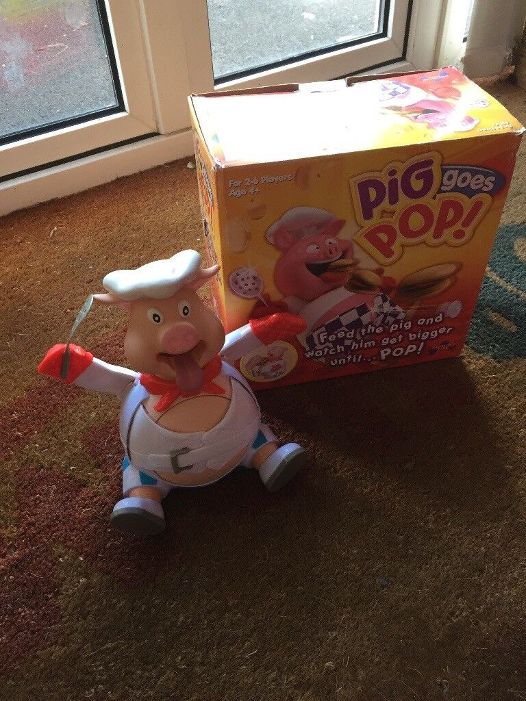 Pig goes Pop Game