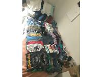 12-18 month boy bundle clothes/toys/blankets, over 80 items
