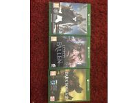Xbox One Games Used But Good