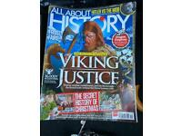 All about history magazines x15 - free to collect