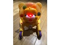 Brights star 2 in 1 ride on lion walker with balls