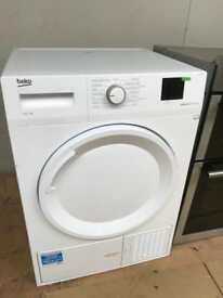 New beko condenser tumble dryer....CURRYS PRICE £299