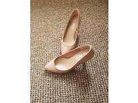Cream primark heels