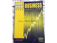 HNC/HND Business course book - Business Strategy unit