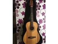 Squier by Fender 3/4 Acoustic Guitar 20th anniversary edition
