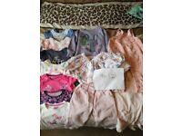 Bundle girls clothes 9-12months