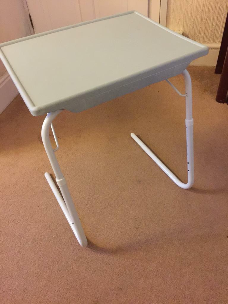 Adjustable Portable Lap Table Tv Tray Table In Ebbw Vale Blaenau