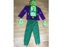 Age 7-8 Frankenstein Halloween outfit