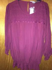New with tags TU Top Size 16