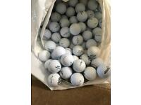 100 top flite golf balls