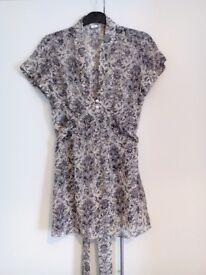 Pretty sheer blouse. £5.