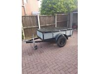 6FT X 3FT TRAILER (WITH BRAND NEW COVER WORTH £60 )