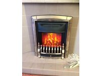 Valor electric fire only used for 3 month