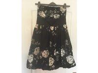 Black and Ivory Bubble dress size 12
