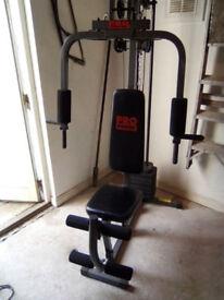 Multi Gym And Exercise Bike/Crosstrainer