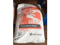 Thistle multi-finish plaster