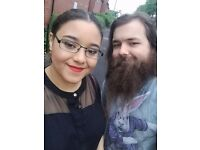 Couple looking for property