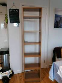 Argos Maine oak effect bookcase
