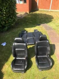 Mk4 golf 3 door heated leather seats