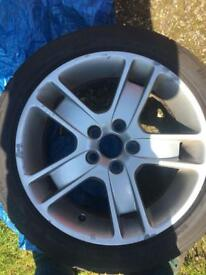 "Volvo v50 17"" alloy wheels"