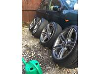 BMW 313 19in alloy wheels and tyres