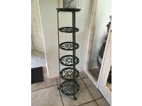 Original Le Creuset Six tier cast Iron pan stand