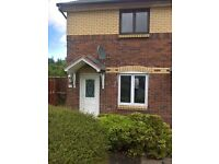 Two bedroomed property in Eldion Crescent, Chapelhall, Airdrie, ML68BG
