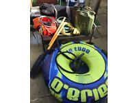 Inflatable rubber dingy Watersports