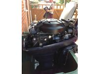 Used Evinrude 9hp outboard engine in good condition for sale