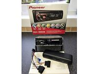 Pioneer DEH-1800UB Car Stereo with RDS Tuner, CD, USB and Aux-In