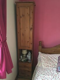 Over Bed Storage, Solid Pine, Drawers, Wardrobe