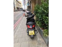 Yamaha X-MAX 125 (Black) from 2009 and in Great Condition