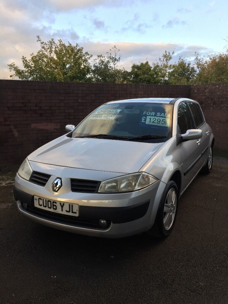 Renault Megane 1.5 DCI ,30 a year Road tax