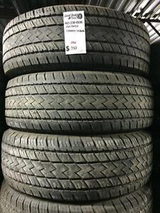 (a)-265/70/17 Goodyear,Michelin , and Sunny