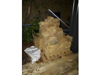 600-700 brand NEW yellow london bricks for sale, pick up
