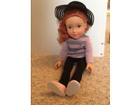 Designer Friend Ginger haired doll