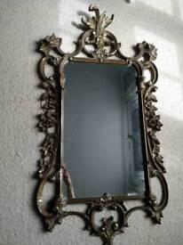 Gold veronese antique mirror