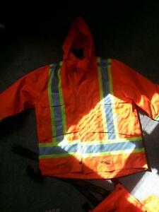 journeyman rain jacket & Pants -waterproof. rip-stop.2xl