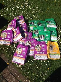 IAMS DOG FOOD FOR SALE DRY FOOD