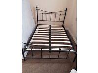 Metal Double Bed.