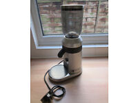 WELHOME ELECTRIC COFFEE GRINDER CONICAL BURR