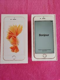 Apple iphone 6s, Vodafone 16GB Rose gold, boxed, great condition